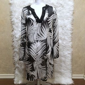 Equipment Femme Palm Tree Tunic-XS